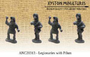 ANC20313 - Marian Romans Legionaries with Pilum